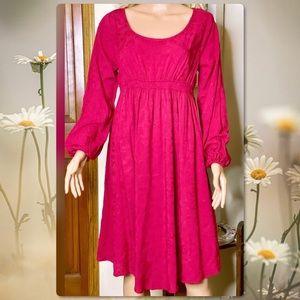 ISABEL MATERNITY BOHO FLOWY DRESS SMALL NEW!